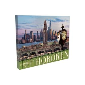 Hoboken wall art canvas 16x20